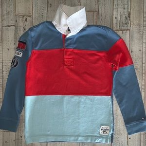 Preowned Tommy Hilfiger Boy LS Polo